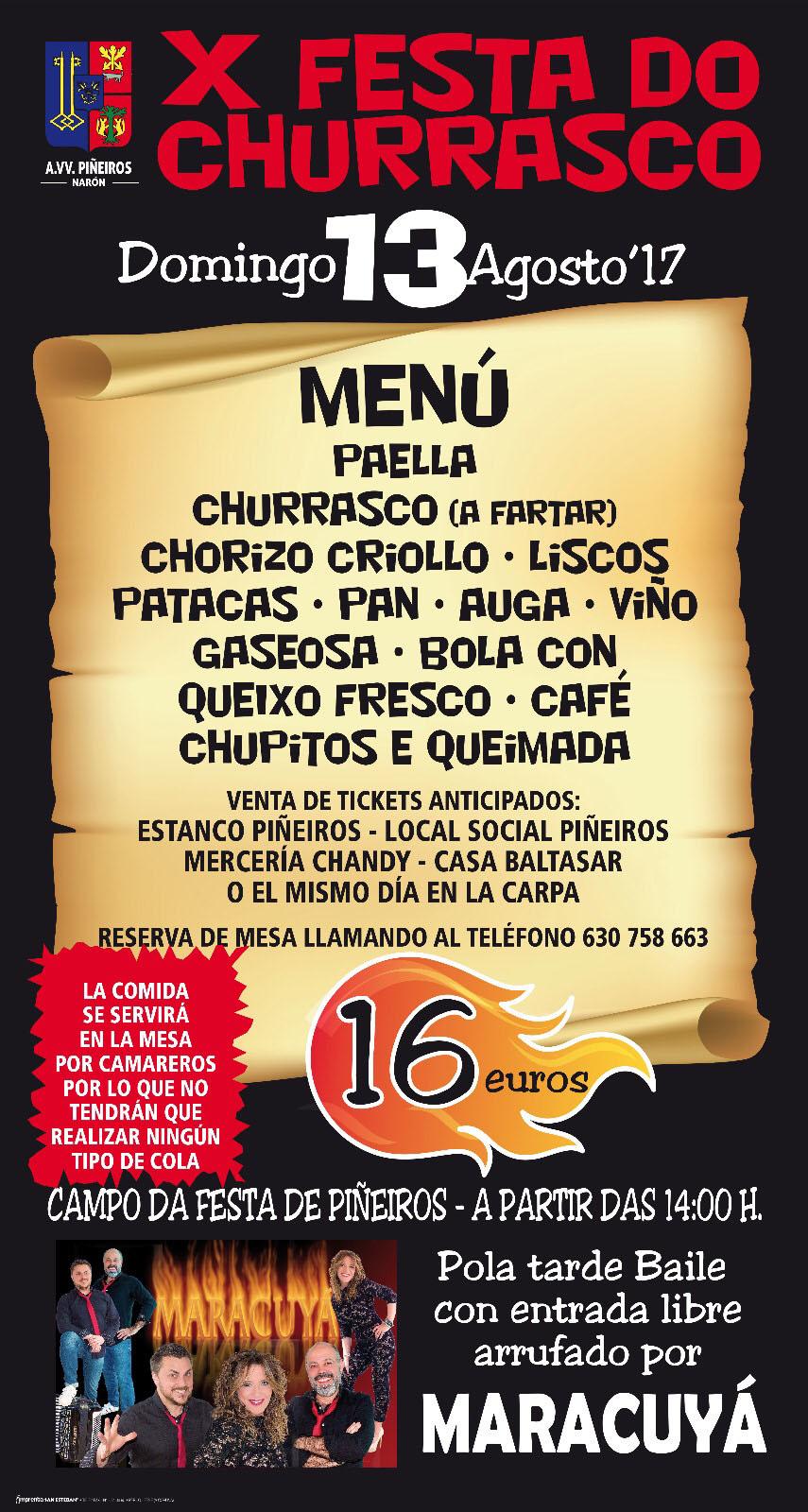 churrasco 2017